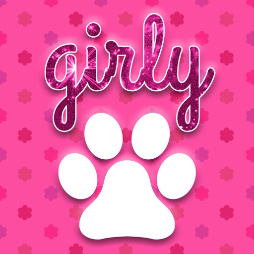 Cute Girly Wallpapers - Pink & Floral Pictures HD icon