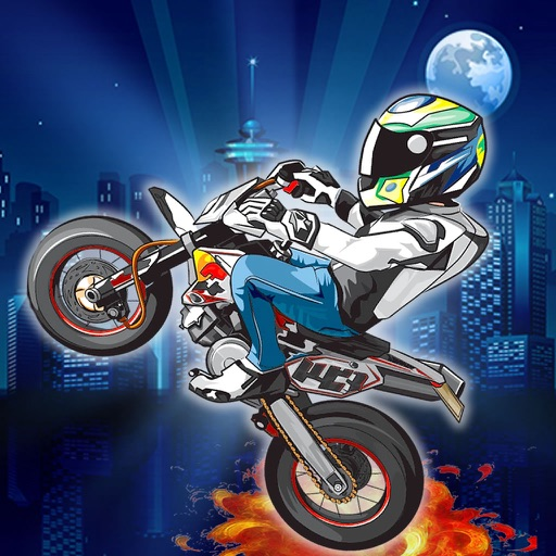 Race Bike Night - Bike Fun Game Night icon