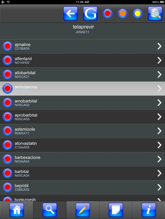 Drug Interactions for iPad screenshot-3