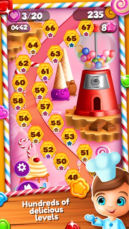 Sweet Jelly Match 3 Games – Crush Color.ed Candy in the Jam Blast.ing Quest With Cookie.s