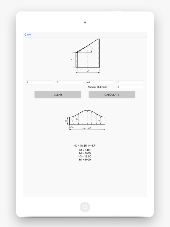 Flat Pattern Bend Calculator screenshot 7