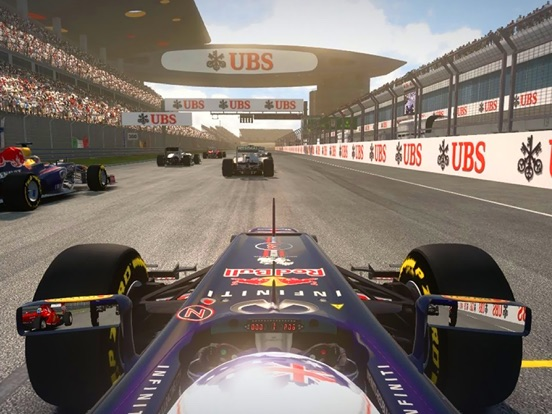 T1 Race Masters на iPad