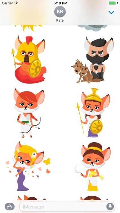 Foxford Stickers