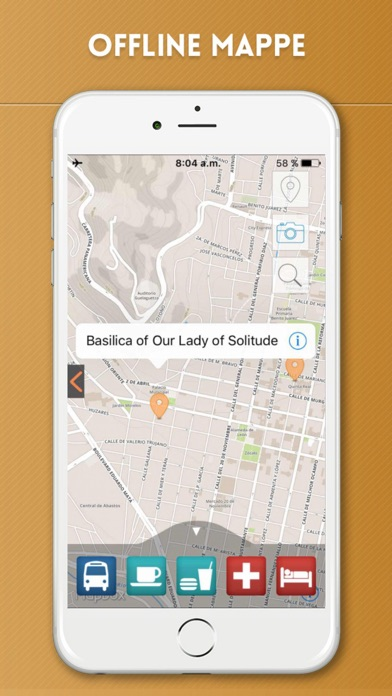 Screenshot of Oaxaca Guida Turistica con Mappe Offline5