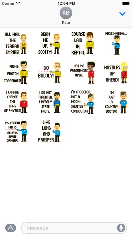 Star Trek Trexel Stickers