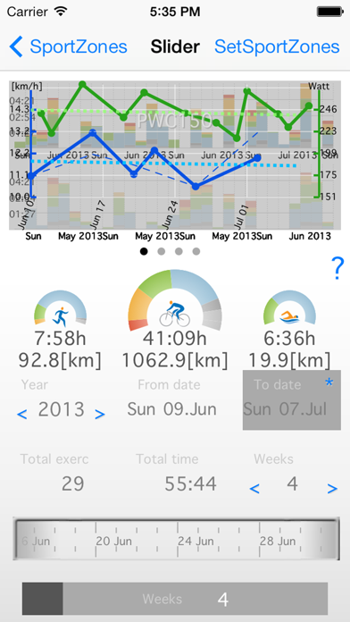 download SportZones6 - PolarFlow Garmin apps 0
