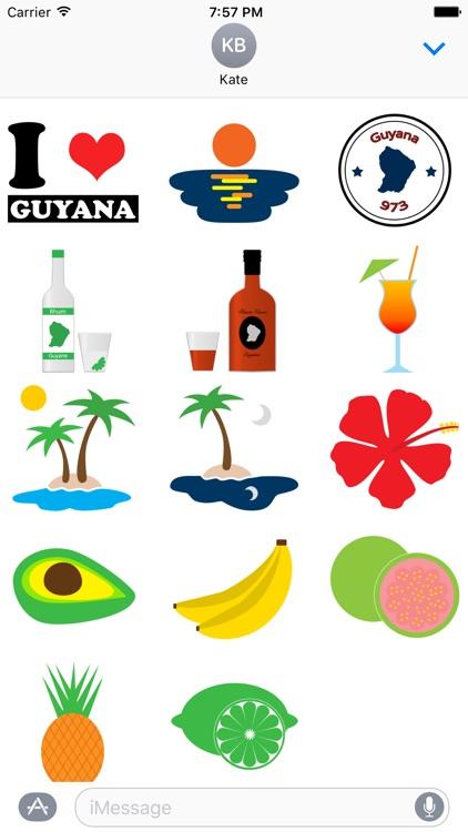 GuyanaMoji - Guyane Stickers
