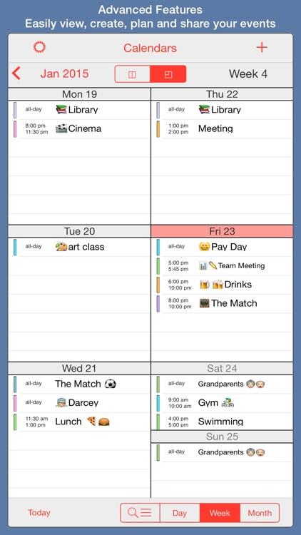PocketLife Calendar app image