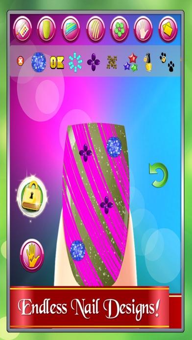 Nail Salon Maker Princess Designs Free Games For Teen Girls App