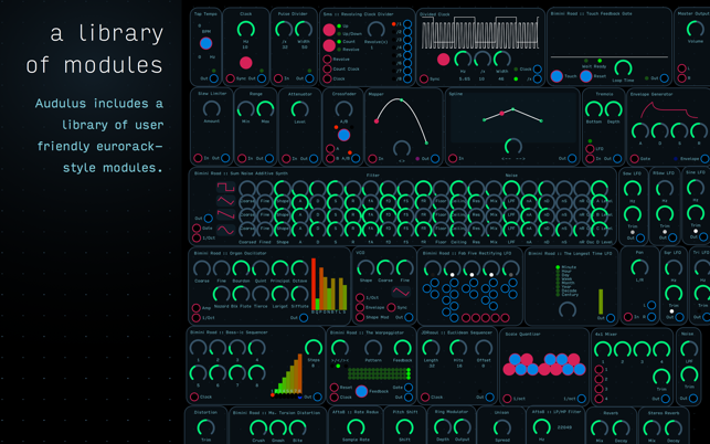 ‎Audulus 3 Screenshot