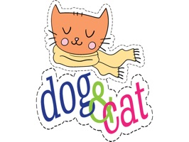Cats and Dogs Fashion Patches is a fun stickers pack for iMessage