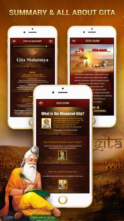 Bhagavad Gita English with Audio screenshot-4