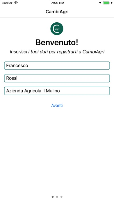 Image of CambiAgri for iPhone