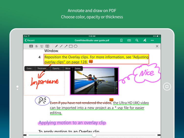 Gaaiho PDF HD - Annotate PDF, Share, Manage