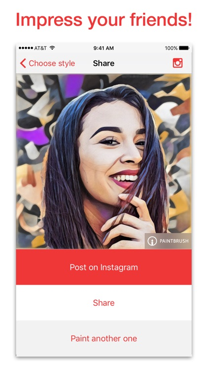 Paintbrush - Photo + Video Art Filters and Effects screenshot-3