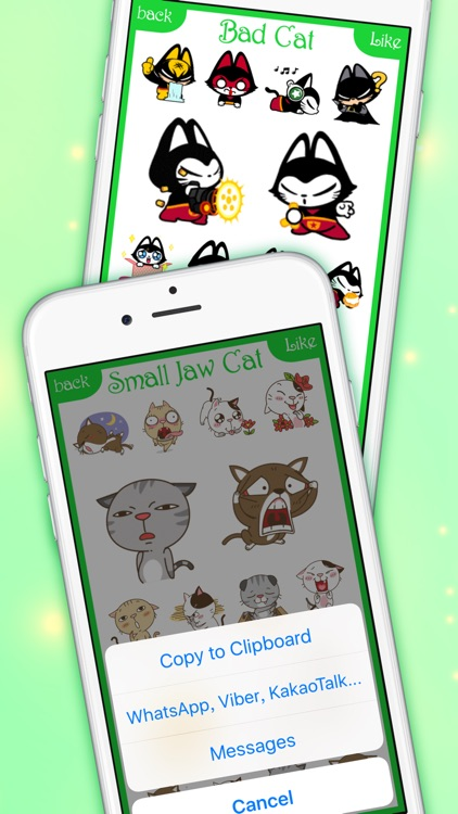CatsMoji - Animated Cats for iMessage & WhatsApp screenshot-4