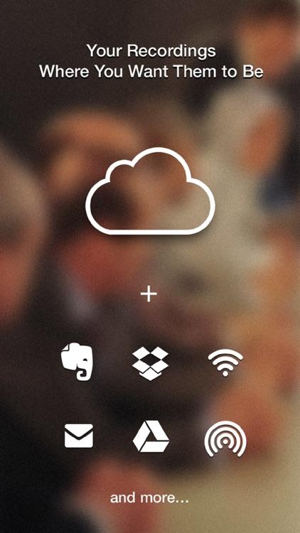 Recordium - Free Voice Recorder screenshot-3