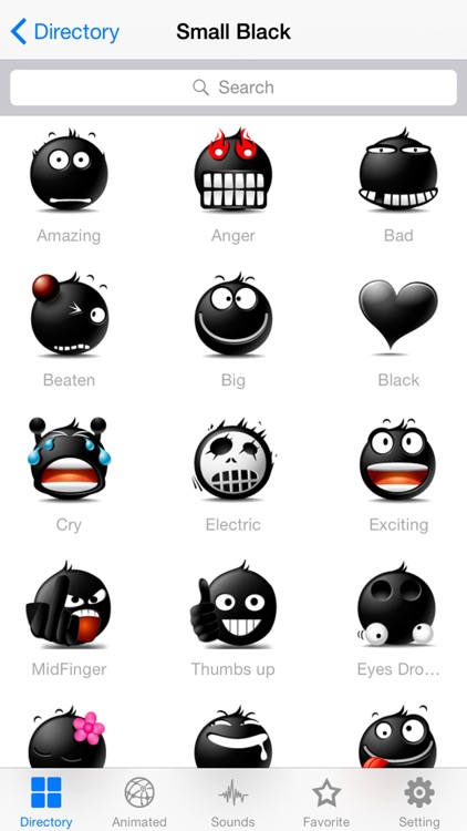 New Emojis & Smileys animated text icons emoticons screenshot-0