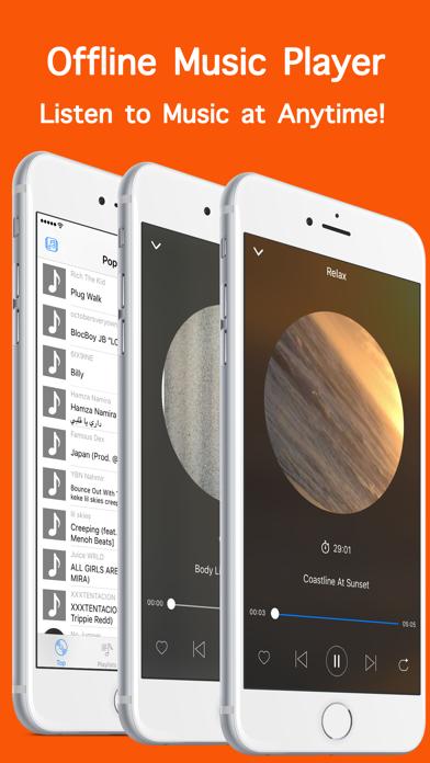 Offline Music Player Mp3 Cloud app image