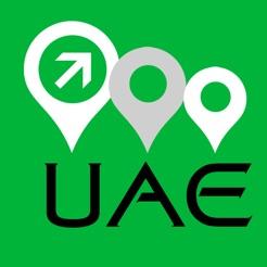 uae map 4
