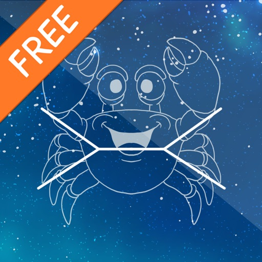 Connect the stars for kids - Free