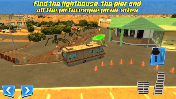 RV & Boat Towing Parking Simulator Real Road Car Racing Driving screenshot-3