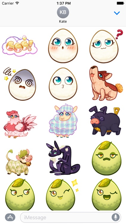 Egg! Sticker Pack screenshot-1