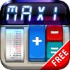 Rechner MaxiCalc Kostenlos mit Drucker für iPad HD