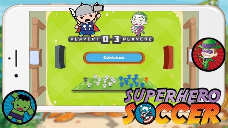 Super Hero Soccer - Kick Goal Sport Games for Kids screenshot-4