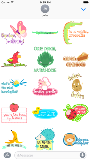 Rhyme Time Stickers Screenshot