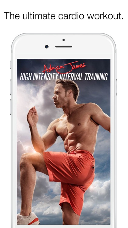 Adrian James High Intensity Interval Training screenshot-0
