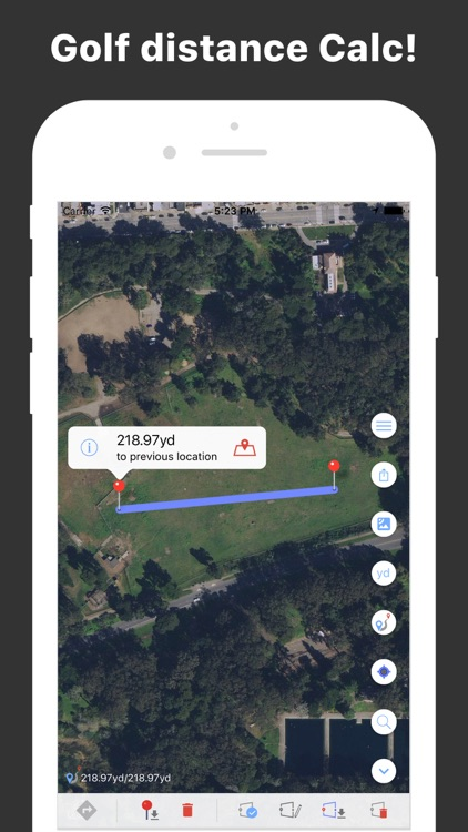DistanceMe - Map Distance Calculator, Direction & Route Manager screenshot-3