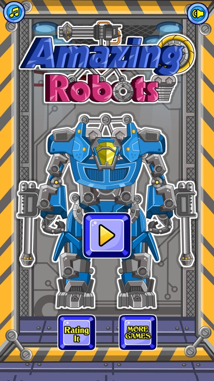 Amazing Robots - A puzzle game for kids screenshot-3