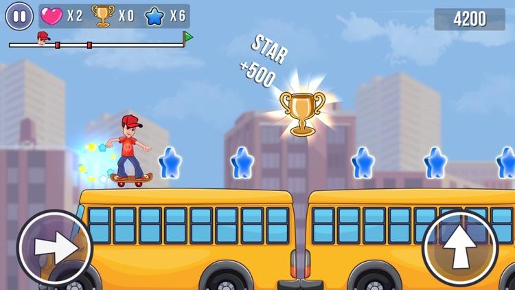 Skater Boy - Fun Skating Game screenshot-3
