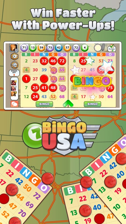 Bingo USA - FREE Bingo and Slots Game screenshot-3