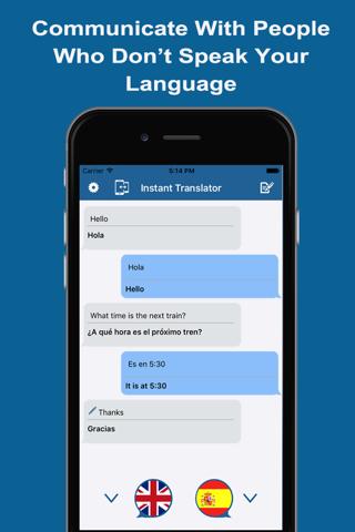 Instant Translator - Converse - náhled