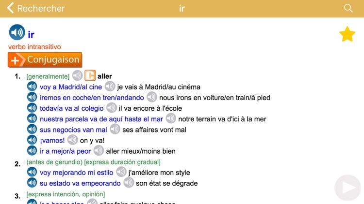 Dictionnaire Français-Espagnol screenshot-4