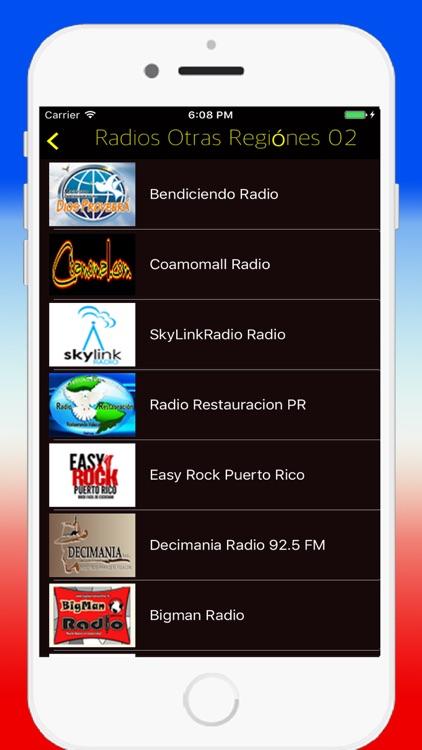 Radio Puerto Rico FM - Live Radios Stations Online screenshot-3