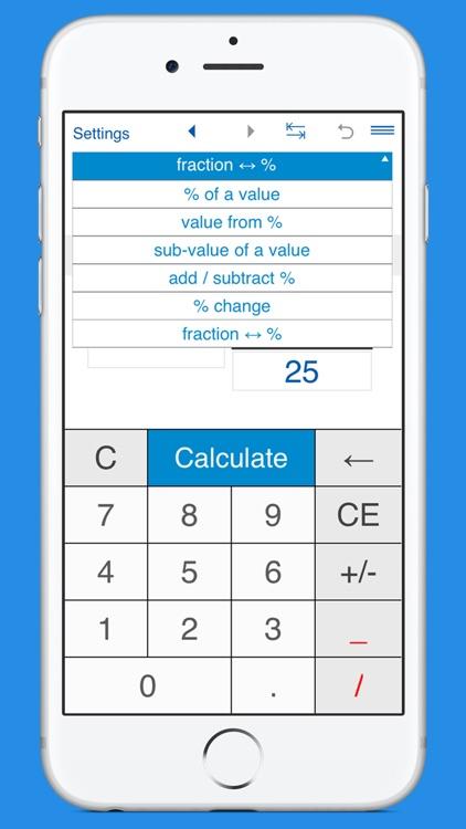 Smart Percentage Calculator screenshot-4