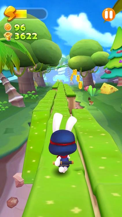 Run Ninja Rabbit Run
