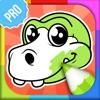 恐龙 著色本 PRO - 儿童填色画 色遊戲