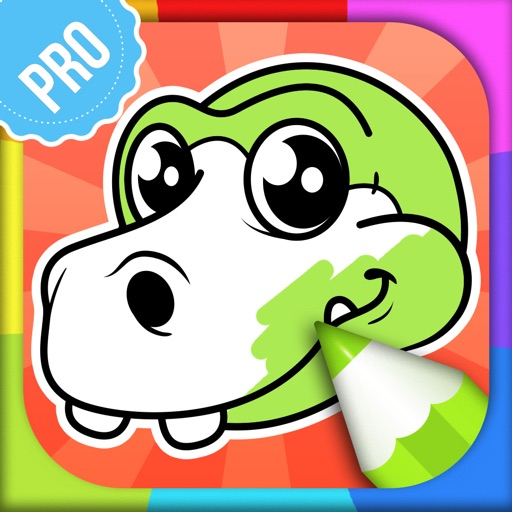 Dinosaur Coloring Pages PRO: Animal Coloring Book for Kids
