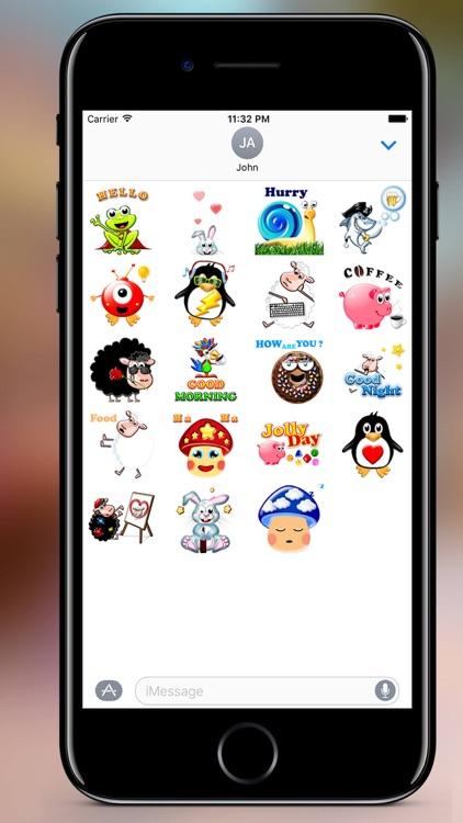 Jolly Stickers screenshot-0