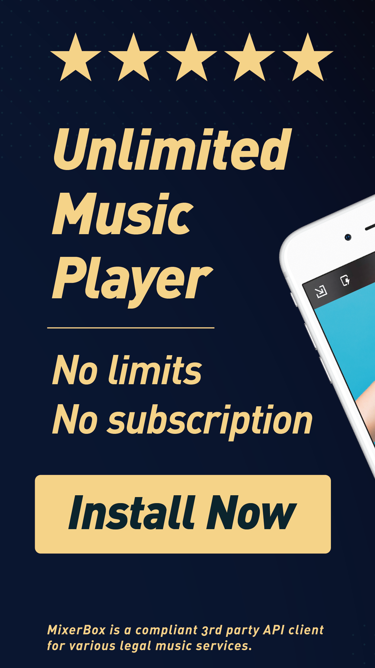 Unlimited Music MP3 Player:MB3 Screenshot
