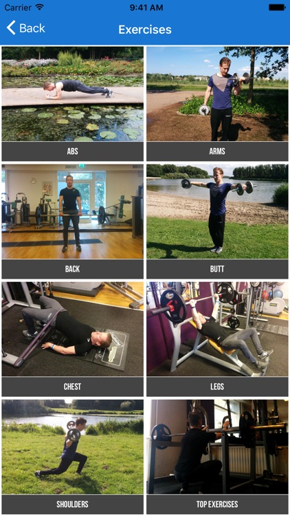 Bodybuilding Exercises and Workouts