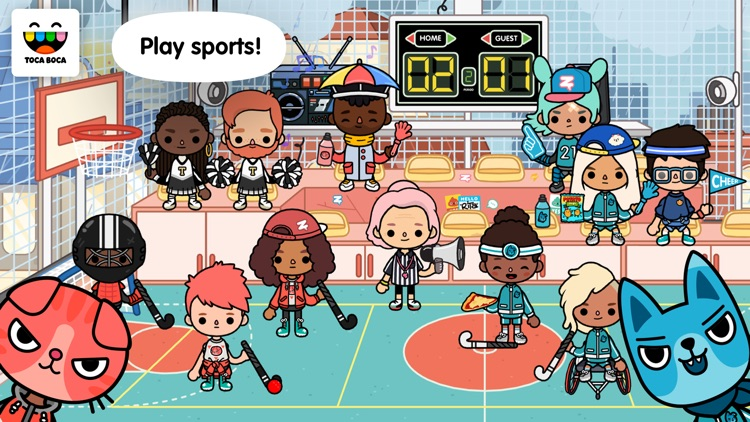 Toca Life: After School screenshot-0