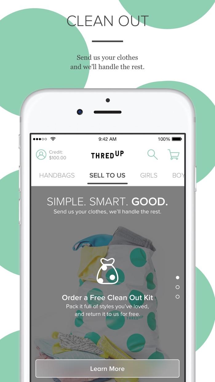thredUP | Buy & Sell Clothing Screenshot