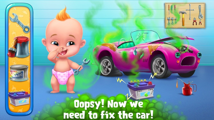 Smelly Baby - Farty Party screenshot-4