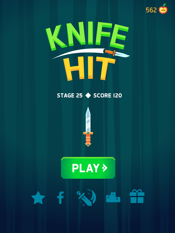 Image of Knife Hit for iPad
