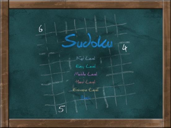 Screenshot #5 pour Sudoku on Chalkboard